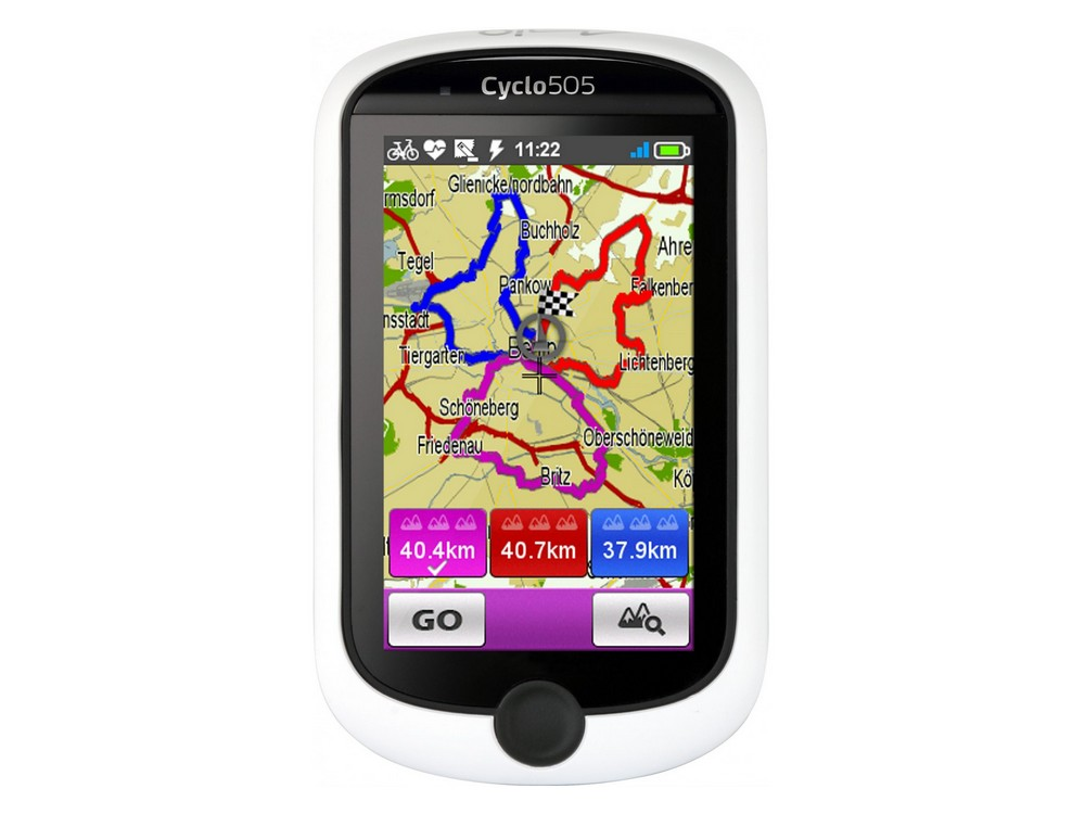 GPS Mio Cyclo 505 HC Europa Ocidental
